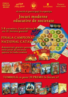 Finala Campionatului National Catan 2015