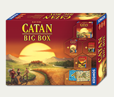 Catan Big Box disponibil in magazine